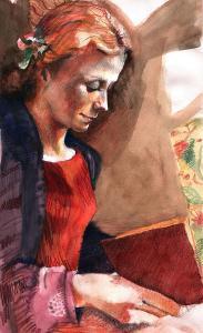 woman-reading-ellen-dreibelbis